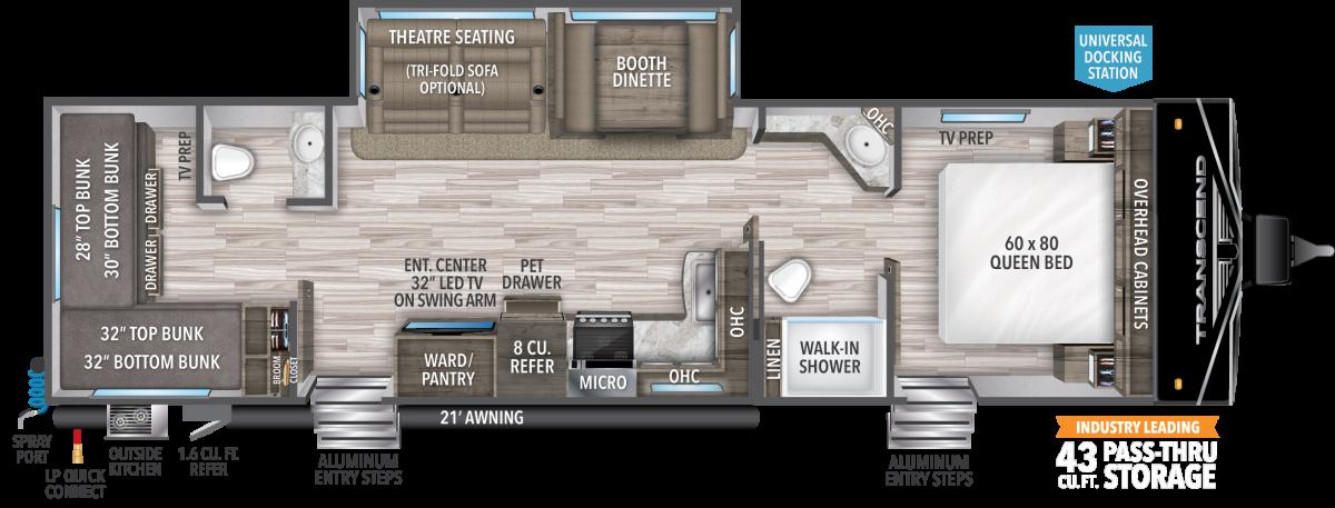 grand design transcend xplor floor plan
