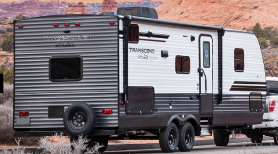 grand design transcend xplor travel trailer exterior