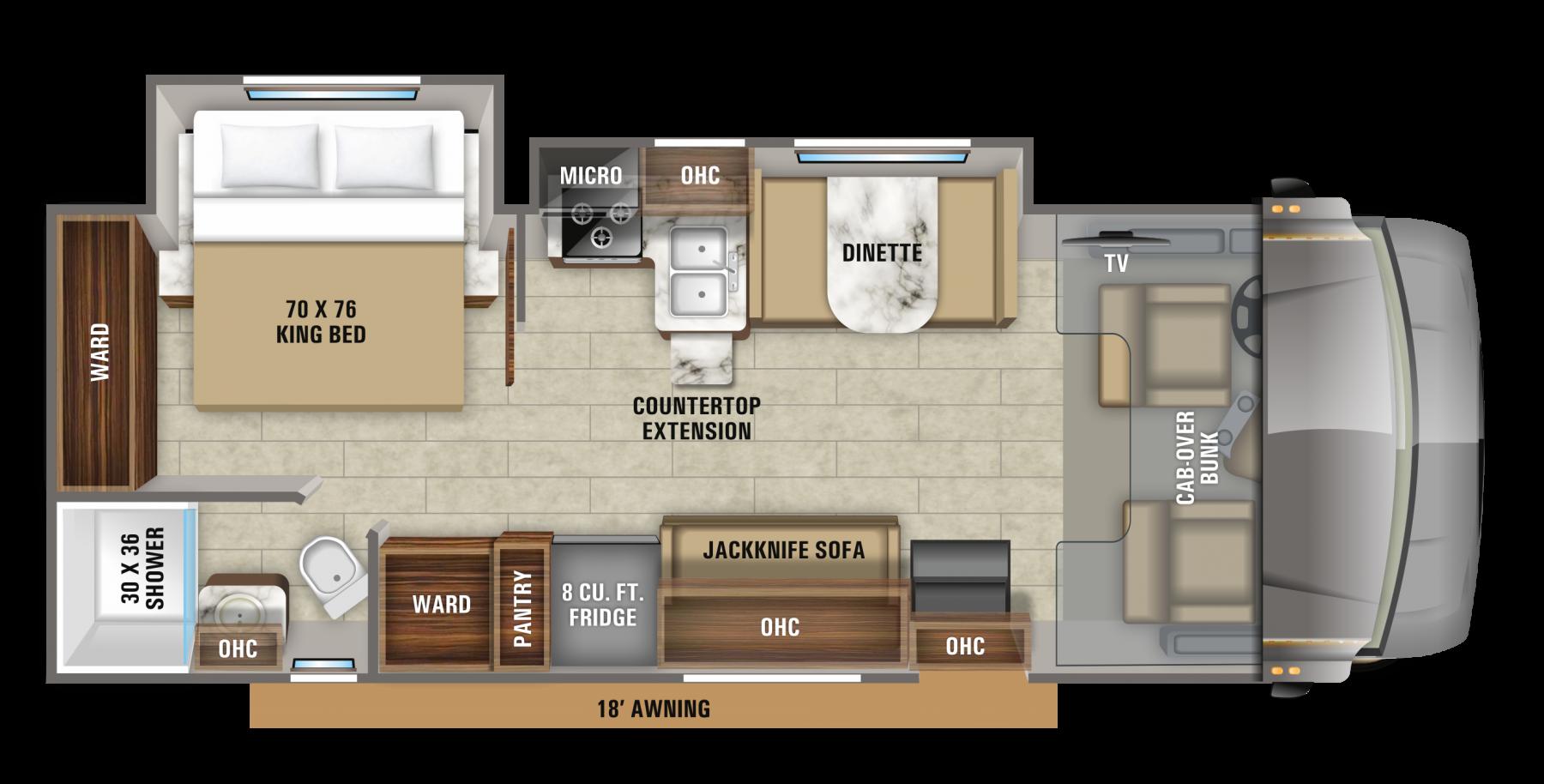 jayco greyhawk 27u floorplan options