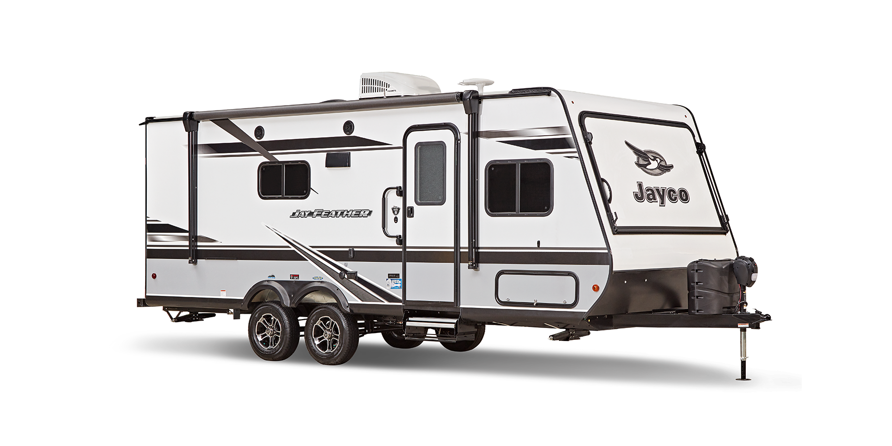 jayco jay feather travel trailer exterior