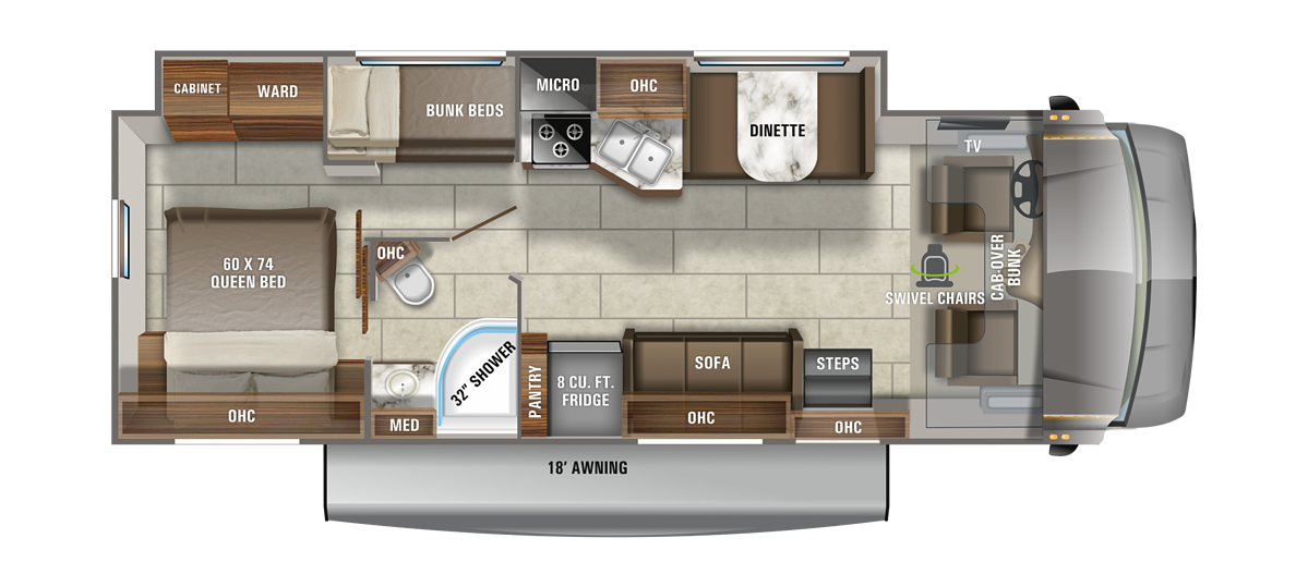 jayco redhawk floor plan