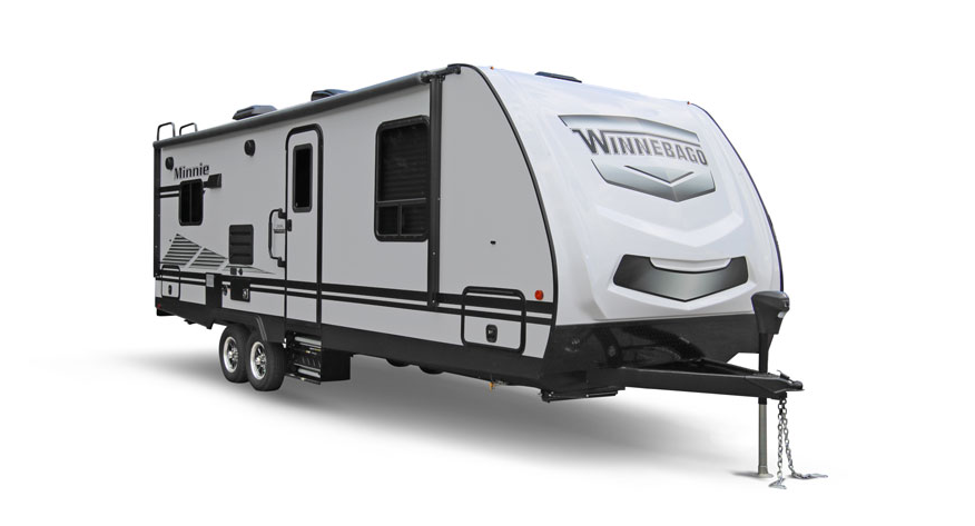 winnebago minnie travel trailer exterior