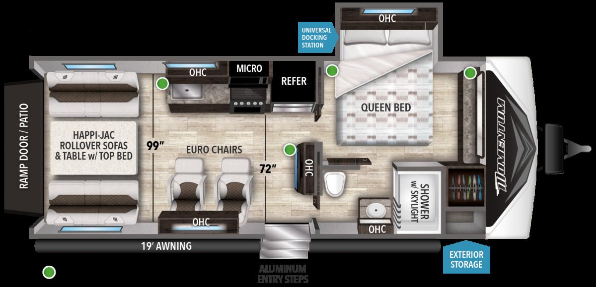 momentum floorplan