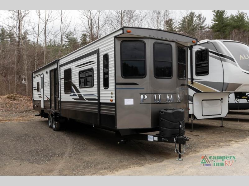 palomino puma destination trailer exterior