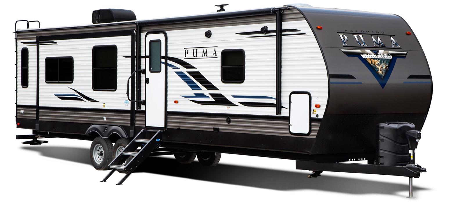 palomino puma travel trailer exterior