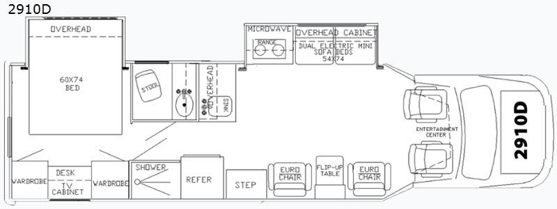 phoenix cruiser class b plus floorplan options