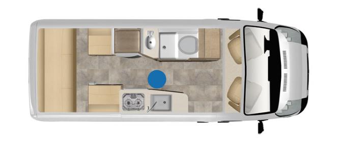 pleasure way lexor class b motorhome floorplan options