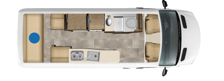 pleasure way plateau floorplan option