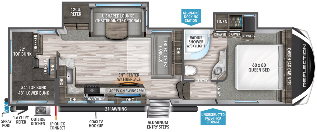 reflection floorplan