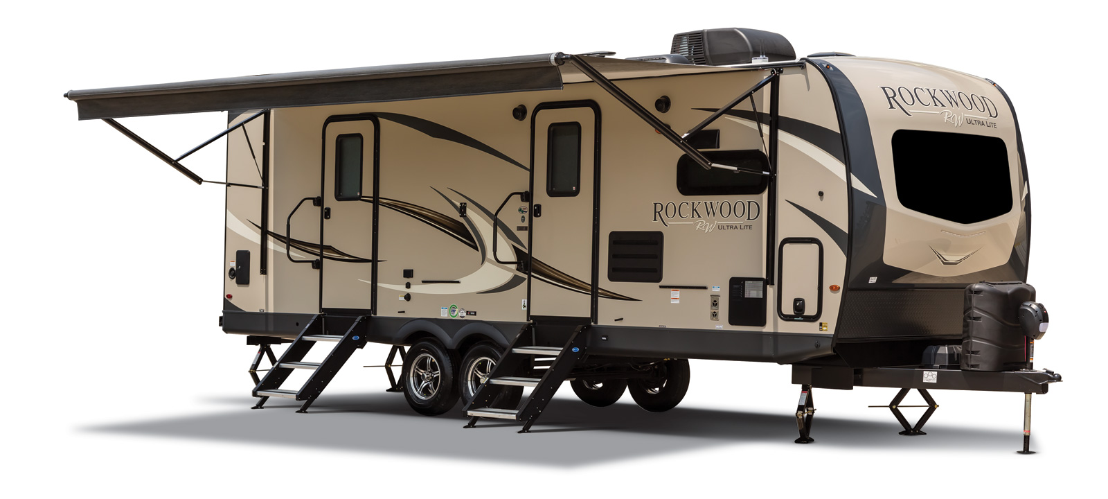 rockwood ultra lite travel trailer exterior