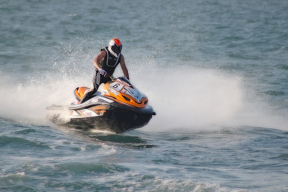 rv campgrounds with jet ski rentals