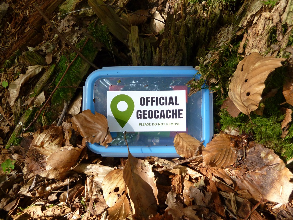 rv resorts with geocache