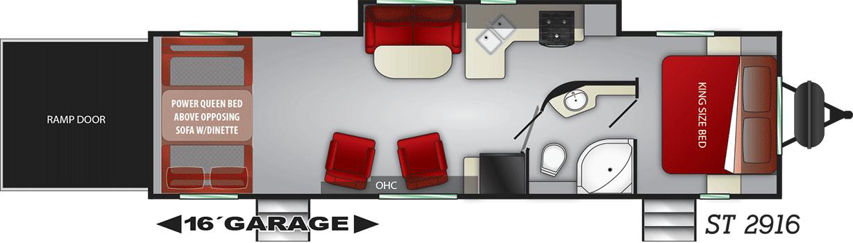 stryker floorplan