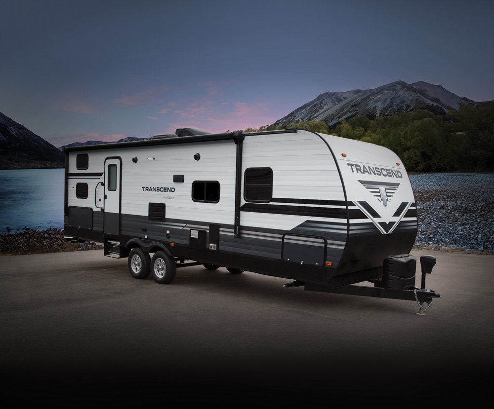 transcend travel trailer