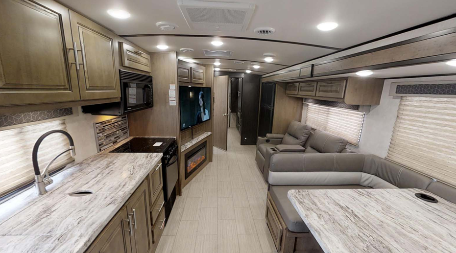 what features does a class a rv have