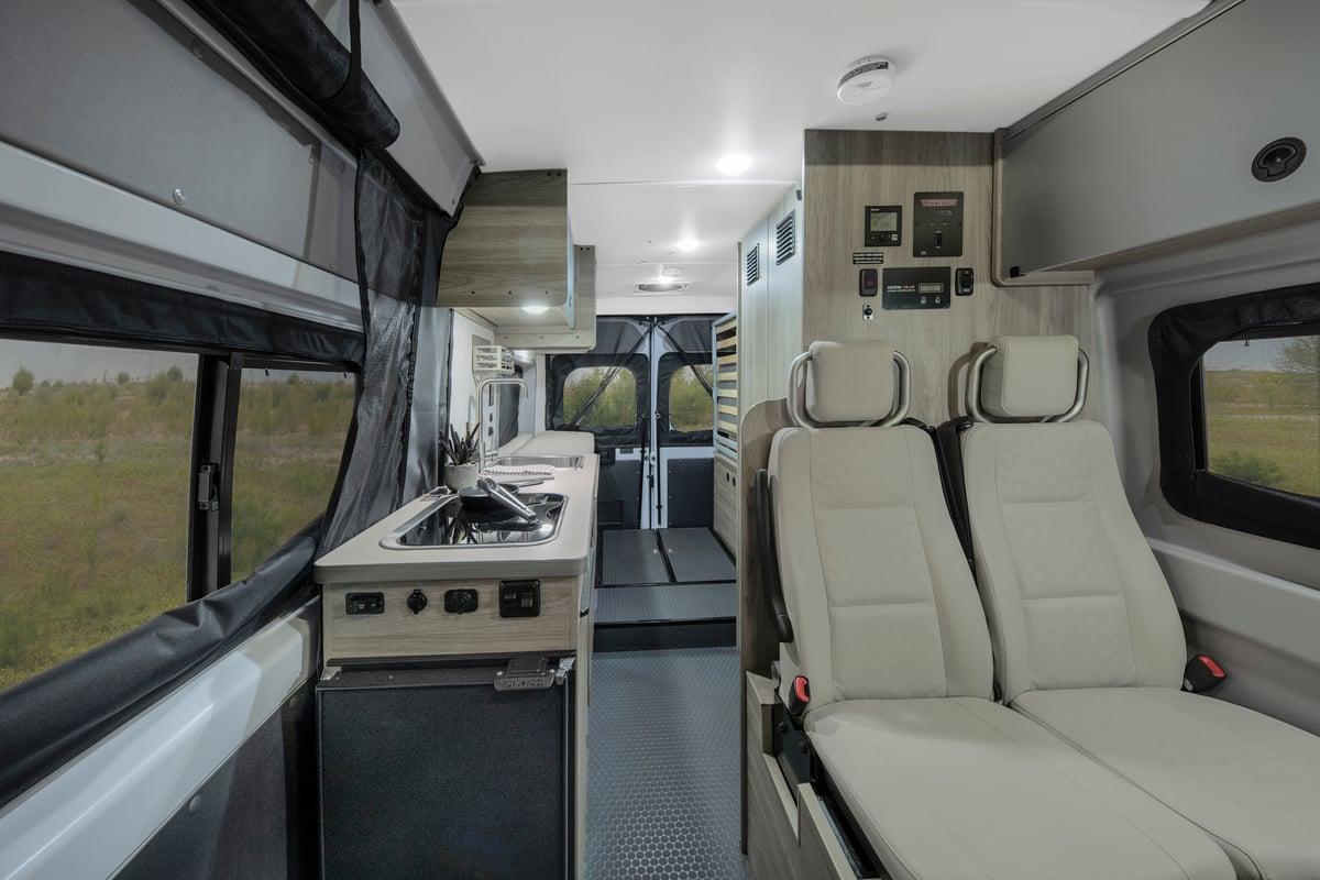 winnebago solis class b motorhome interior