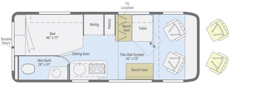 winnebago travto floorplan