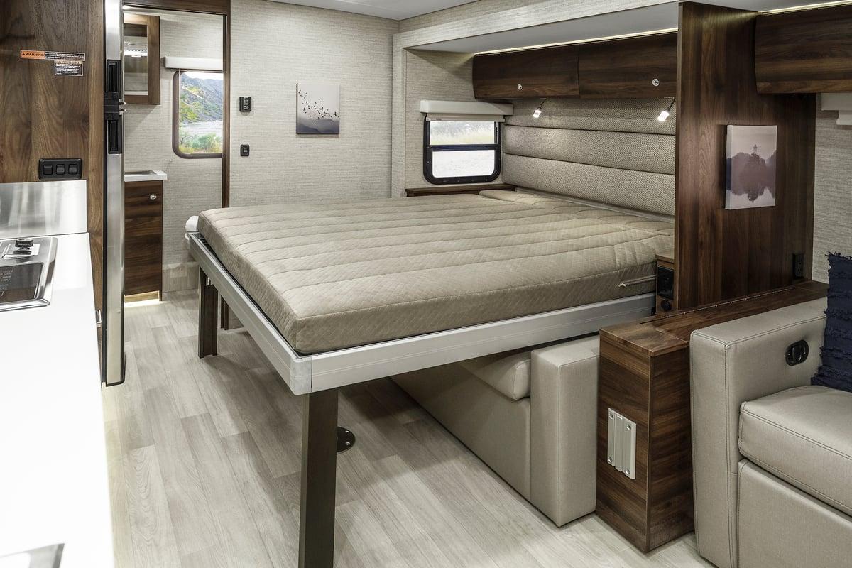 winnebago view class c motorhome murphy bed