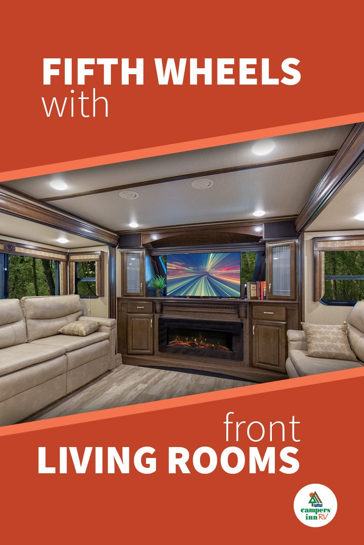 Top 4 Fifth Wheels With Front Living Rooms