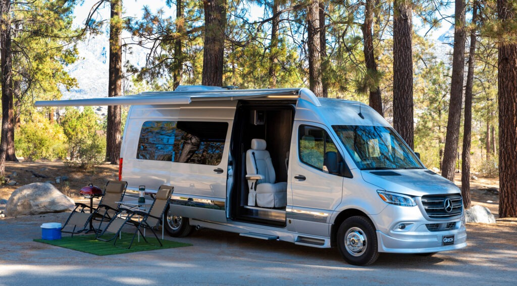 Introducing the Grech Strada - The Newest Mercedes Benz Chassis RV