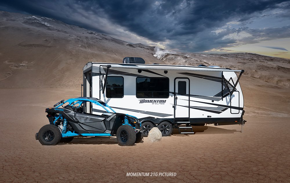 Top 5 Toy Hauler Travel Trailers and Fifth Wheels with Outdoor Kitchens